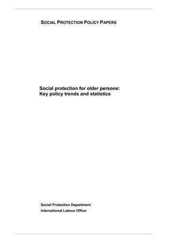 ILO-Socialprotection2014