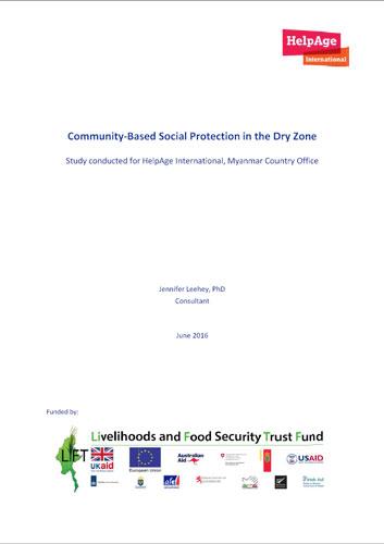 Community-based-SocialProtection-DryZone-2016