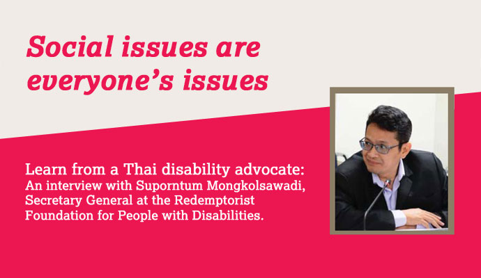 interview with disability advocate